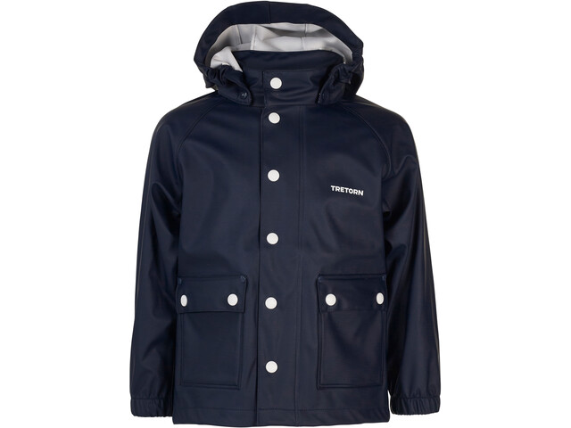 c3052cd03ced Tretorn Kids Wings Raincoat with Hanger Navy - addnature.com
